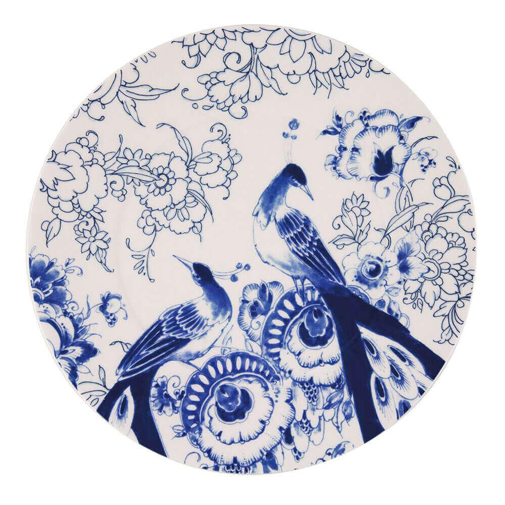 Teller✧ Paradiesvogel,blau