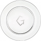 "Mobile Preview: Presentation plate ""G"" monogram 
