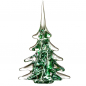 Preview: Christmas tree made of green crystal glass ca. 30 cm