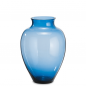 Preview: Loght blue glass GALA belly vase