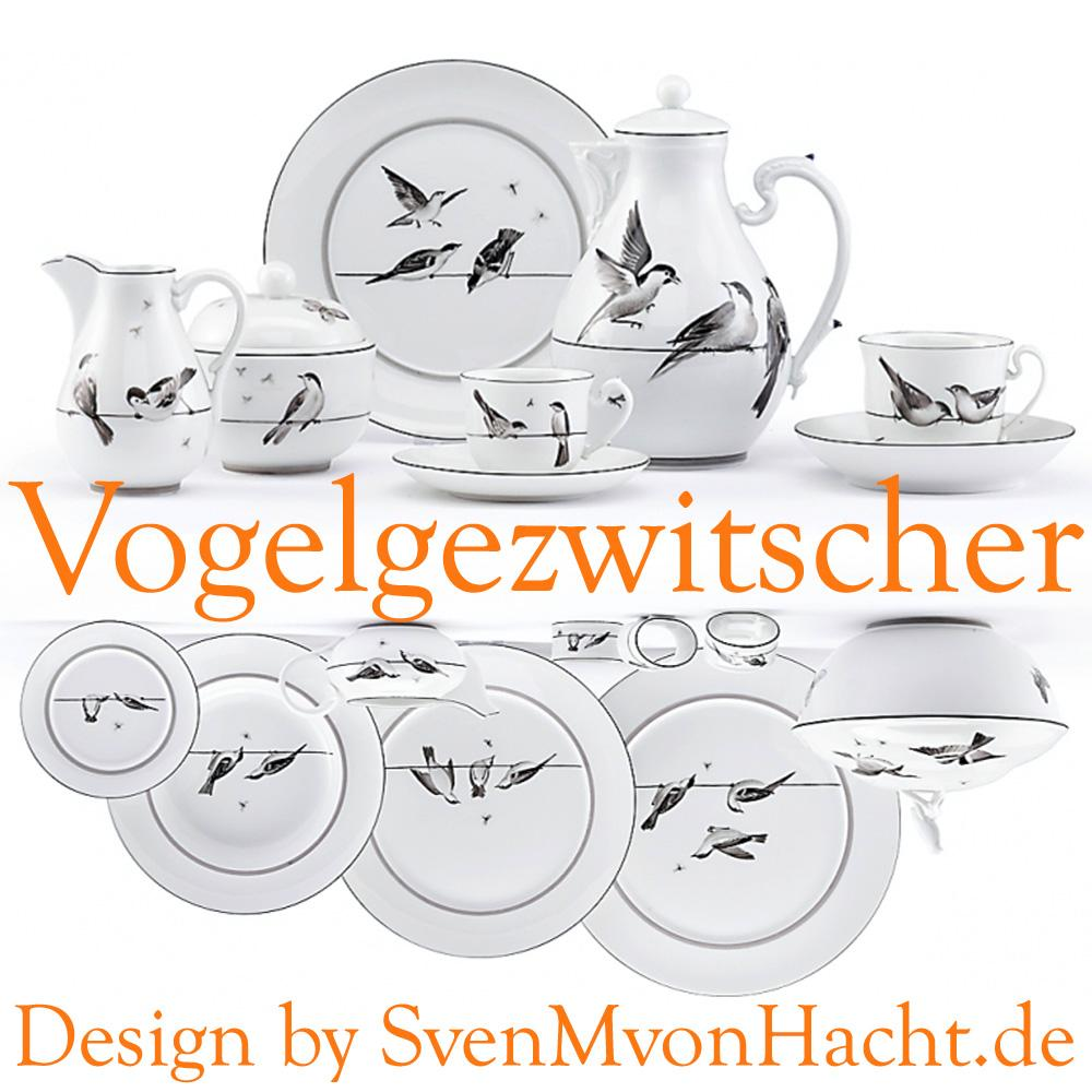 Presentation plates with the Ludwigsburger Meisterstück