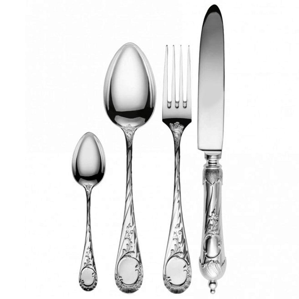 Vendome 925 sterling silver dinner set-4tlg