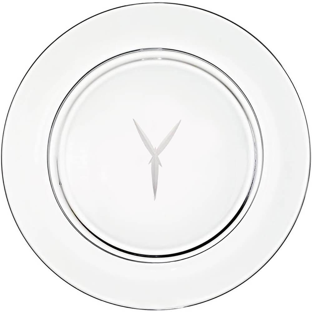 "Presentation plate ""Y"" monogram 