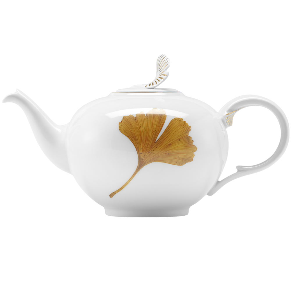 "Teapot ""The golden ginkgo"""
