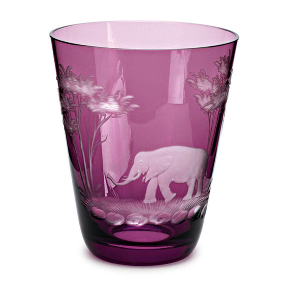 Theresienthal-Kilimanjaro-cup-107-mm-amethyst-engraved-elephant